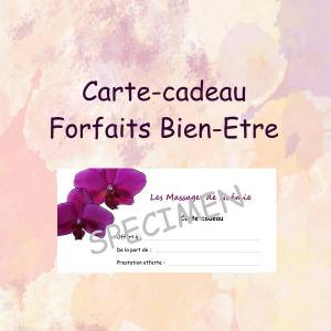 Carte-cadeau Massage Le Touquet