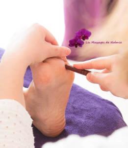 Massage des pieds Le Touuquet