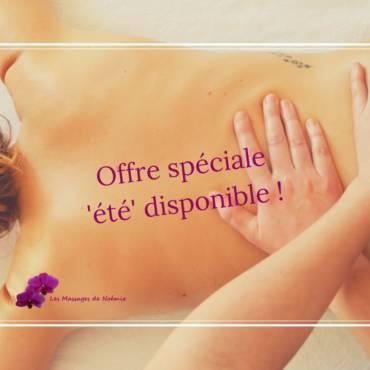 Offre spéciale Massage été 2017