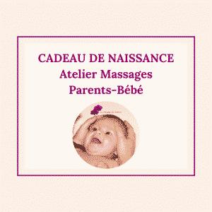 Cadeau de naissance massage bébé au Touquet