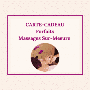 Carte-cadeau forfaits massage au Touquet