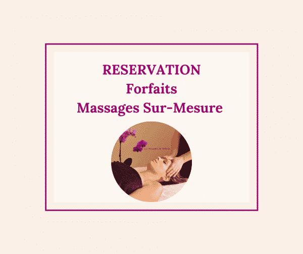 Réservation forfaits massage au Touquet